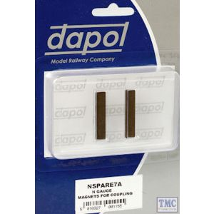 2A-000-006 Dapol N Scale Magnets for Coupling