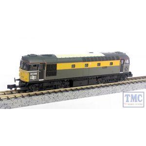 2D-001-002 Dapol N Scale Class 33 046 Merlin Dutch Grey/Yellow