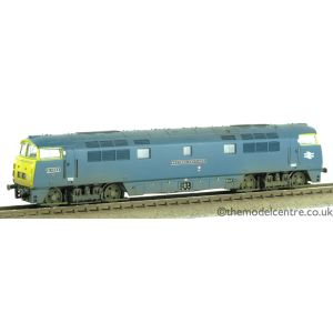 2D-003-000 Dapol N Gauge 52 BR Blue D1005 Western Venturer Yellow Ends Weathered by TMC