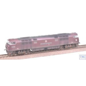 2D-003-008 Dapol N Gauge BR D1000 Western Enterprise Maroon SYP Weathered by TMC