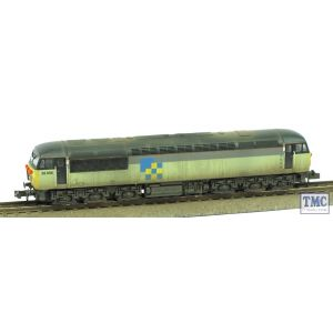 2D-004-008 Dapol N Gauge Class 56 Doncaster Built 56056 Construction Livery Extra Detail Weathering by TMC