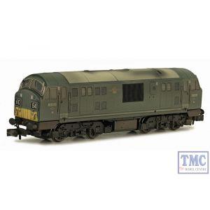 2D-012-013 Dapol N Gauge BR Class 22 D6315 SYP Green Font A Wthrd