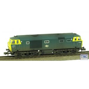 2D-018-001 Dapol N Gauge BR Hymek D7061 Blue Full Yellow Panels Weathered by TMC