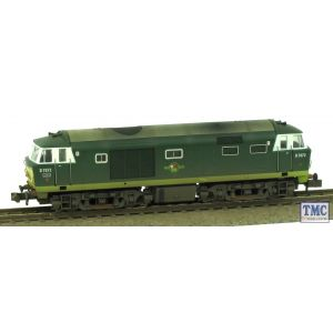 2D-018-005 Dapol N Gauge BR Hymek D7072 Two Tone Green (Unpowered) Weathered by TMC