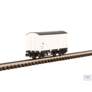 2F-019-005 Dapol N Scale Blue Spot Fish Van White E87894