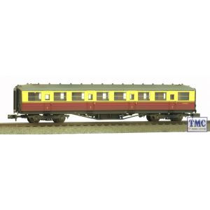 2P-011-251 Dapol N Gauge Gresley Carmine & Cream Composite E10075E Weathered By TMC