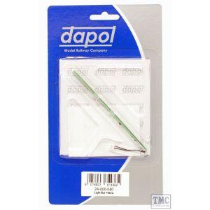 2A-000-040 Dapol N Gauge Light Bar Yellow Steam