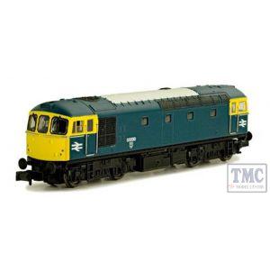 2D-001-005 Dapol N Gauge Class 33/0 33020 BR Blue
