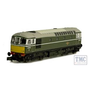 2D-001-006D Dapol N Gauge Class 33/0 33008 Eastleigh Yellow Front (DCC-Fitted)