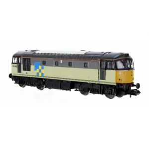 2D-001-007 Dapol N Gauge Class 33/0 33042 Railfreight Construction