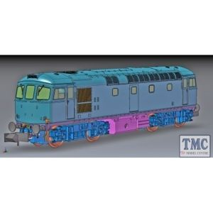 2D-001-007D Dapol N Gauge Class 33/0 33042 Railfreight Construction (DCC-Fitted)