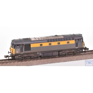 2D-001-021 Dapol N Gauge Class 33/1 33103 Engineers Dutch Livery with Deluxe Weathering by TMC