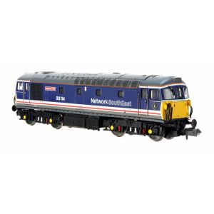 2D-001-022 Dapol N Gauge Class 33/1 33114 Ashford 150 Network SouthEast