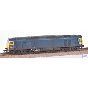 2D-002-000 Dapol N Gauge Class 50 D406 BR Blue Unrefurbished with Deluxe Weathering by TMC