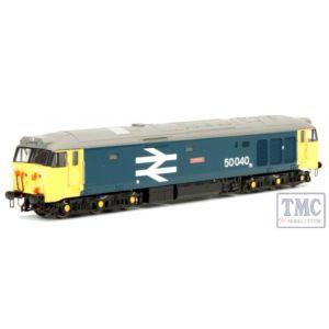 2D-002-002S Dapol N Gauge #P# Class 50 040 BR Large Logo Blue Levathian (DCC-Sound)