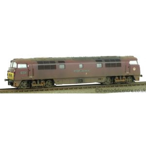 2D-003-001 Dapol N Gauge Class 52 BR Maroon D1029 Western Legionaire Small Yellow Ends Weathered by TMC