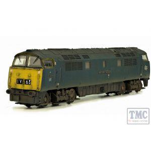 2D-003-011D Dapol N Gauge Western Invader D1009 BR Blue FYE Weathered DCC