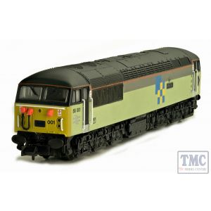 2D-004-002 Dapol N Gauge BR Class 56 001 Railfreight Construction Diesel Loco