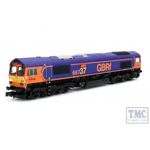 2D-007-006 Dapol N Gauge Class 66 66737 Lesia GB Railfreight
