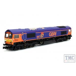 2D-007-006D Dapol N Gauge Class 66 66737 Lesia GB Railfreight DCC