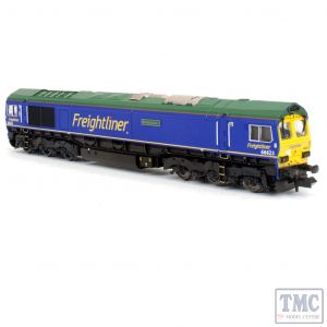 2D-007-010D Dapol N Gauge Class 66 623 Bill Bolsover Freightliner Blue (DCC-Fitted)