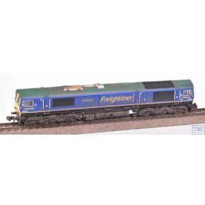 2D-007-010 Dapol N Gauge Class 66 623 Bill Bolsover Freightliner Blue