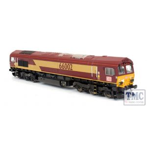 2D-007-011 Dapol N Gauge Class 66 002 EWS/DB Russell Contrainer Train Pack