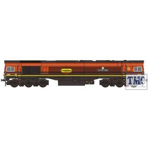 2D-007-013D Dapol N Gauge Class 66 413 'Lest We Forget' Freightliner Orange/Black DCC Fitted