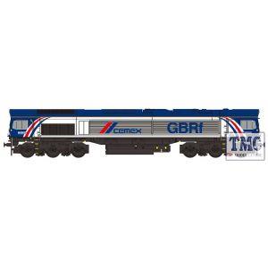 2D-007-014D Dapol N Gauge Class 66 780 GBRf Cemex (DCC-Fitted)