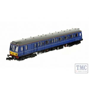 2D-009-005D Dapol N Gauge Class 121 020 Chiltern Railways Blue (DCC-Fitted)