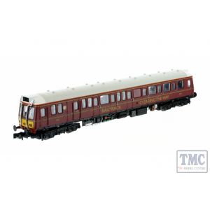 2D-009-006 Dapol N Gauge Class 121 977858 Railtrack Maroon
