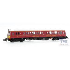 2D-009-006D Dapol N Gauge Class 121 977858 Railtrack Maroon (DCC-Fitted)