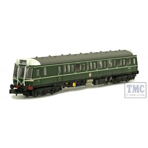 2D-009-007 Dapol N Gauge Class 121 W55025 BR Green w/Speed Whiskers