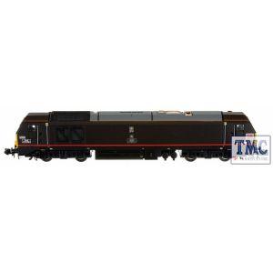 2D-010-008 Dapol N Gauge #P# Class 67 006 Royal Sovereign DB Royal Claret