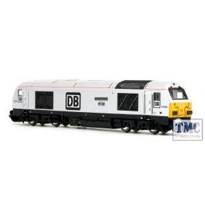 2D-010-011 Dapol N Gauge Class 67 029 Royal Diamond DB Silver