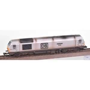 2D-010-011 Dapol N Gauge Class 67 029 Royal Diamond DB Silver