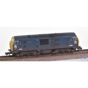 2D-012-014 Dapol N Gauge Class 22 D6328 BR Blue FYE Font A