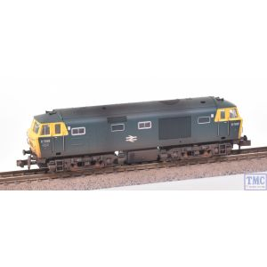 2D-018-006 Dapol N Gauge Hymek D7035 BR Blue FYP Dummy (Non-Motorised) Weathered by TMC