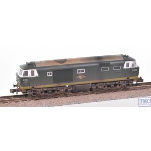 2D-018-007 Dapol N Gauge Hymek D7003 Two Tone Green No YWP BR Late Crest Weathered by TMC