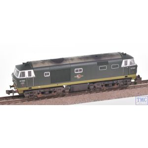 2D-018-007 Dapol N Gauge Hymek D7003 Two Tone Green No YWP BR Late Crest