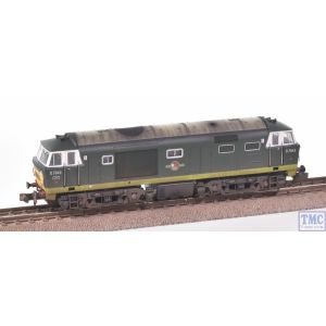 2D-018-008 Dapol N Gauge Hymek D7043 Two Tone Green SWP BR Late Crest with Deluxe Weathering by TMC