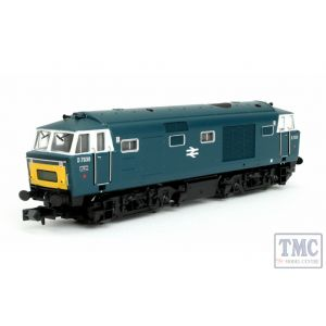 2D-018-010D Dapol N Gauge Hymek D7036 BR Blue SYP Double Arrow Logo DCC