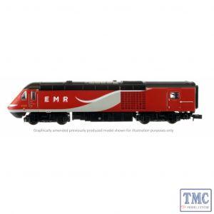 2D-019-006 Dapol N Gauge Class 43 HST East Coast 43309/306 4 Car Set