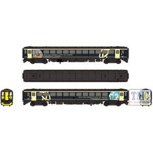2D-020-003 Dapol N Gauge 153 302 Wessex Trains