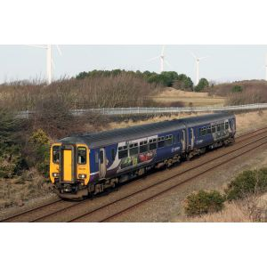 2D-021-005D Dapol N Gauge 156 461 Northern Ravenglass/Eskedale DMU (DCC-Fitted)