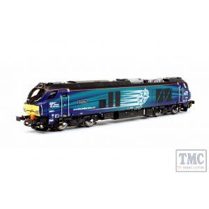 2D-022-007D Dapol N Gauge Class 68 Evolution 68001 DRS DCC
