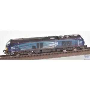2D-022-007 Dapol N Gauge Class 68 Evolution 68001 DRS