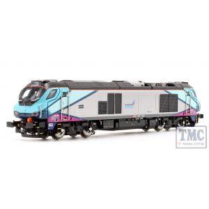 2D-022-009 Dapol N Gauge Class 68 019 Brutus Trans Pennine Express