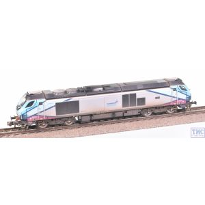 2D-022-009 Dapol N Gauge Class 68 68019 Brutus Trans Pennine Express with VALUE Weathering by TMC