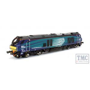 2D-022-011 Dapol N Gauge Class 68 034 DRS Compass